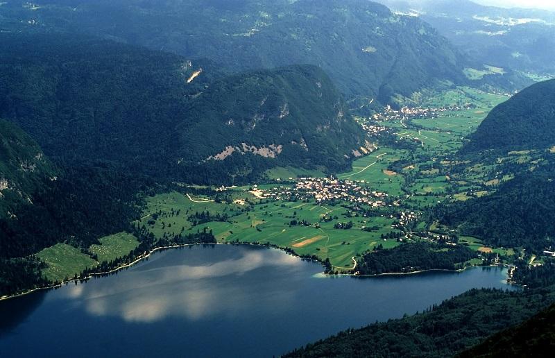 Bohinjské Jazero, Bohinj - Slovinsko
